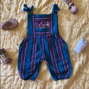 Other - Guatemalan embroidered overalls